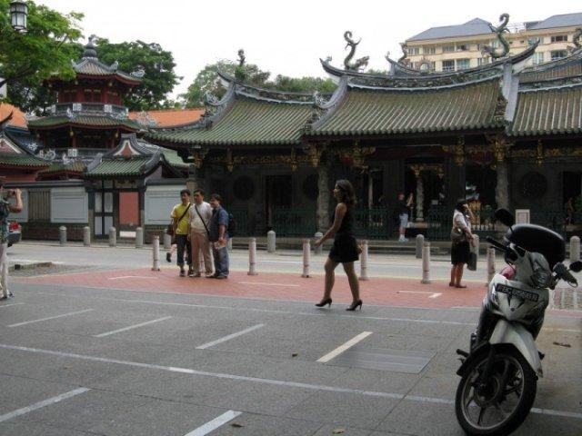 Храм Тянь Хок Кен в Сингапуре