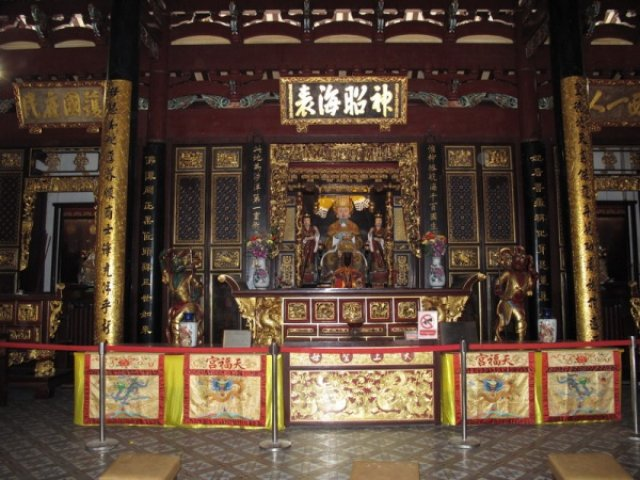богиня моря Ма Чжу По - покровительница путешественников