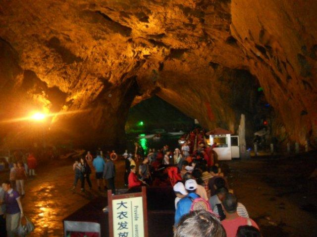 Экскурсия в пещеру Бэньси