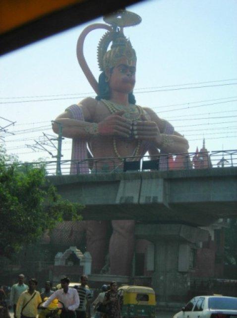 Хануман, Дели, Индия