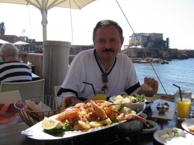 Ресторан в Кесарии, Израиль