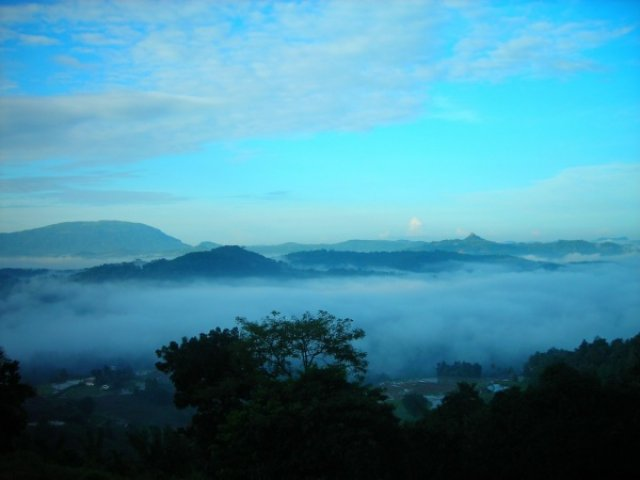 Путешествие по облакам на поезде, Шри-Ланка