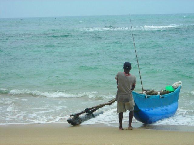 тяжелый труд приморских рыбаков