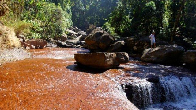 Последний водопад, который мы видели в Лаосе