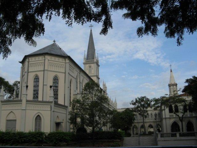 Католический собор в Сингапуре