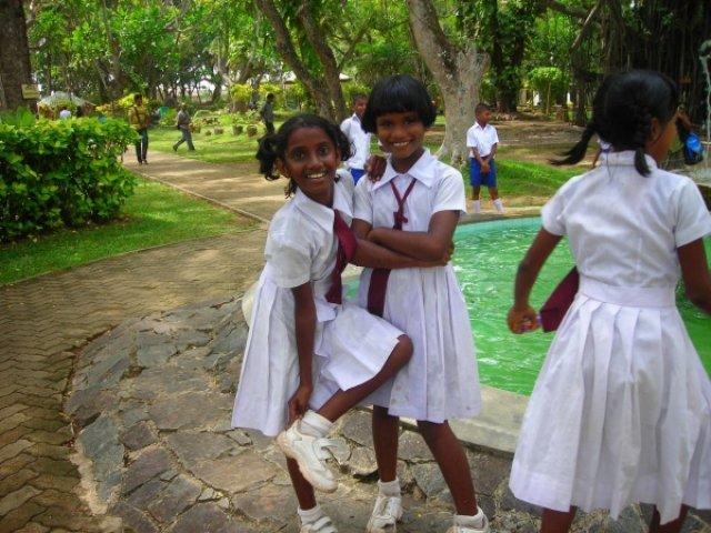 Беззаботное детство, Шри-Ланка