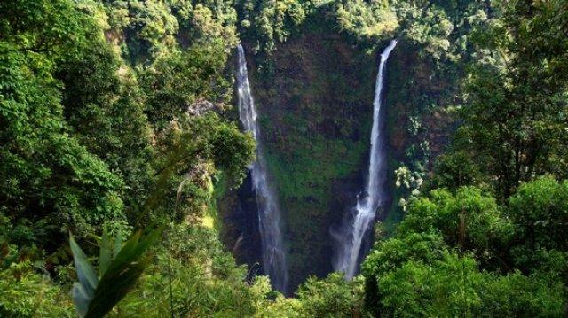 Водопад высотой 110 метров