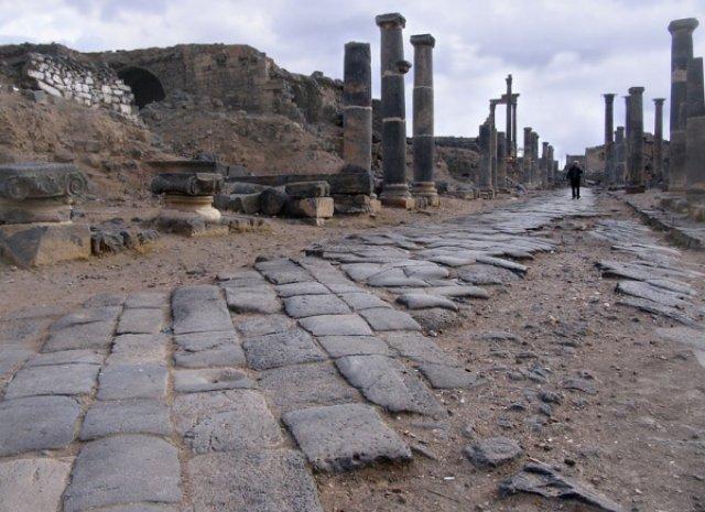 Босра была столицей римской провинции Аравия