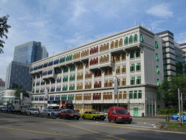 Дом в центре Сингапура
