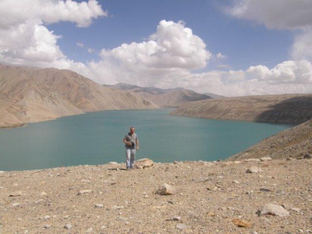 Озеро Яшилькуль на Восточном Памире
