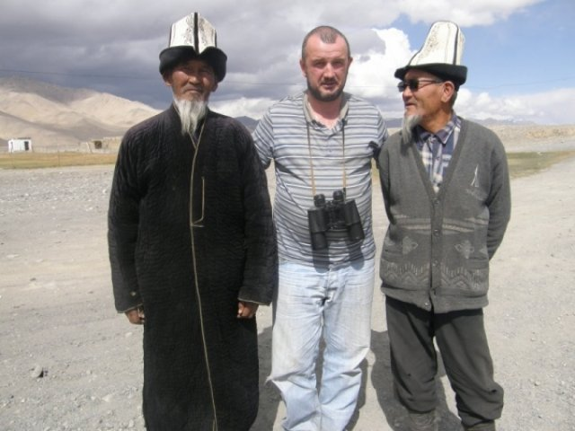 Первые киргизы (пос. Аличуль)
