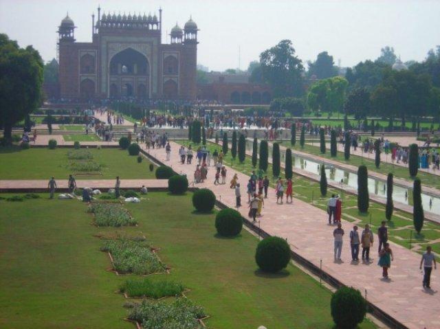 Ох и долгая у меня была дорого к седьмому чуду света - Тадж-Махалу, Индия