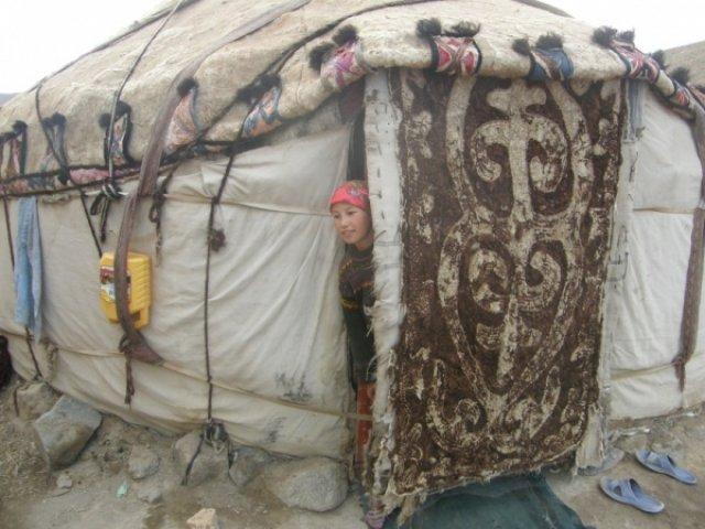 Киргизская юрта