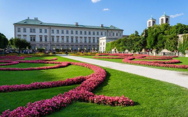 Дворец и сады Мирабель, Зальцбург