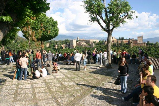 Смотровая площадка Мирадор-де-Сан-Николас, Гранада