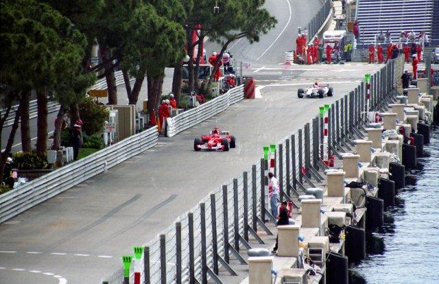 """Соревнование Формула-1 на """"Гран-при Монако"""""""