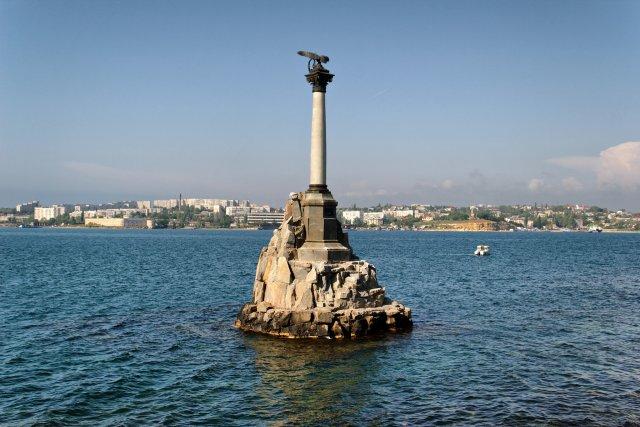 Памятник затопленным кораблям, Севастополь