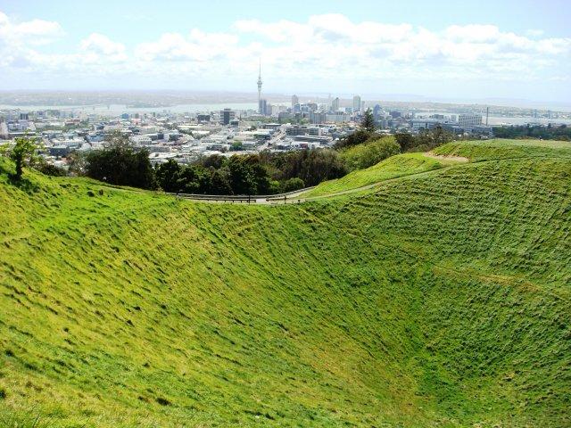 Гора Иден, Окленд