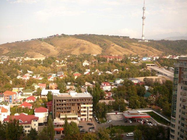 Гора Кок-Тюбе, Алматы