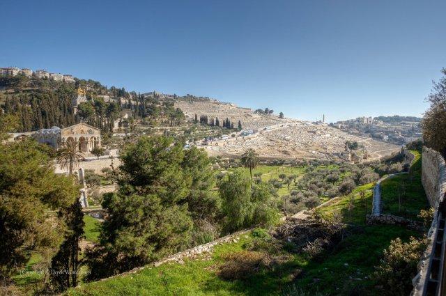 Масличная гора, Иерусалим