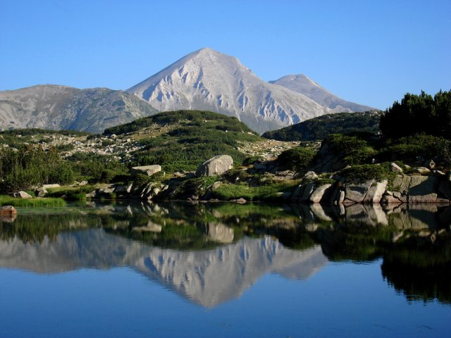 Гора Вихрен, Болгария