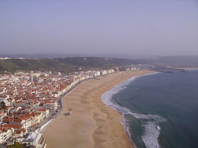 Пляж Назаре, Португалия