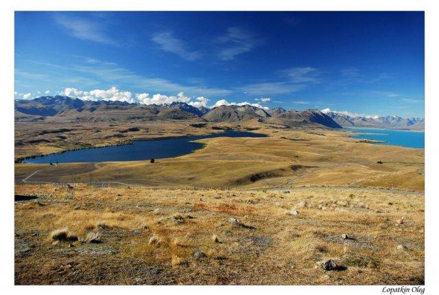 Регион озера Текапо и озера Александра, Новая Зеландия