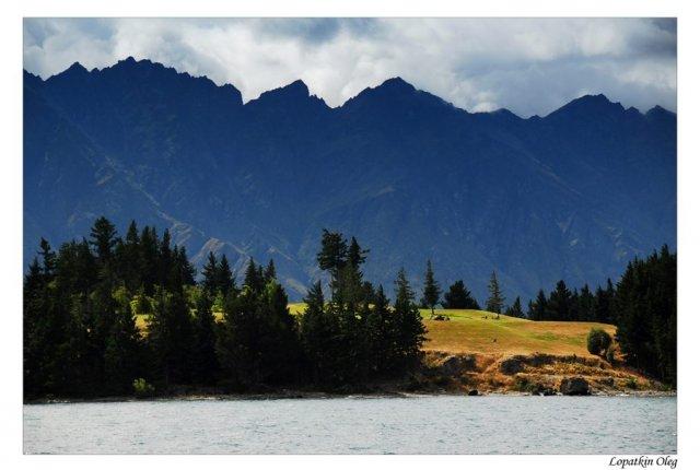 Озеро Вакатипу, Новая Зеландия