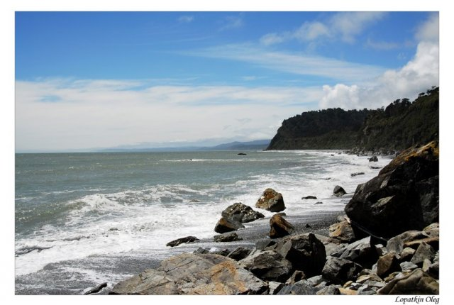 Побережье Тасманова моря