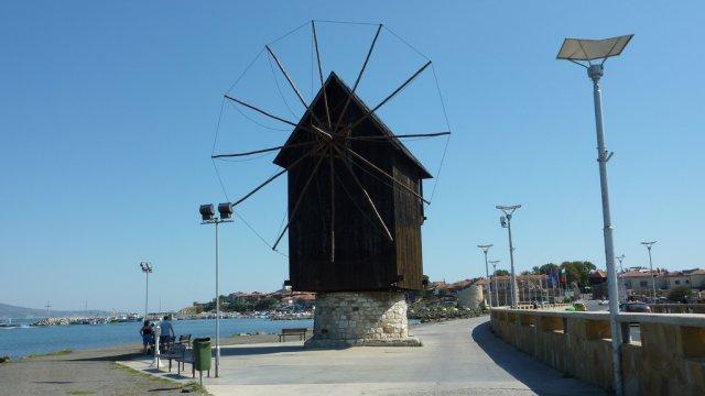 Ветряная мельница, Несебр
