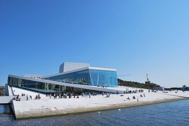 Дом Оперы в Осло, Норвегия
