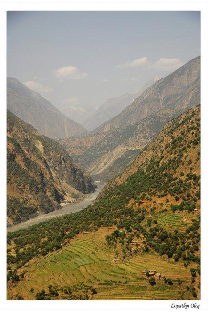 Виды и пейзажи, по ходу следования по Karakaram Highway