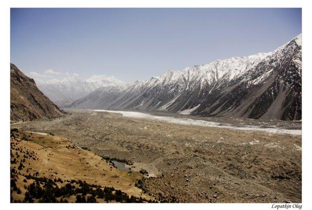Хребет Батура и одноименный ледник