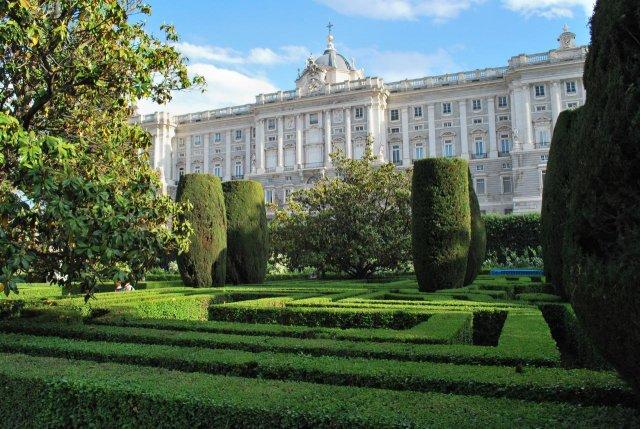Королевский дворец, Мадрид