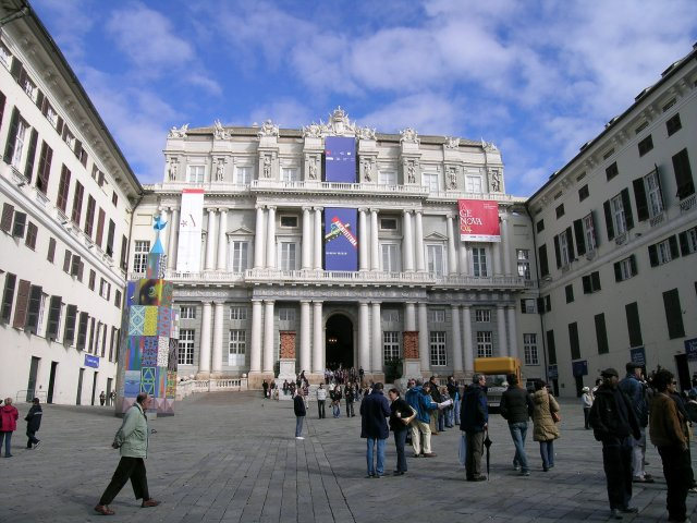 Дворец дожей, Генуя