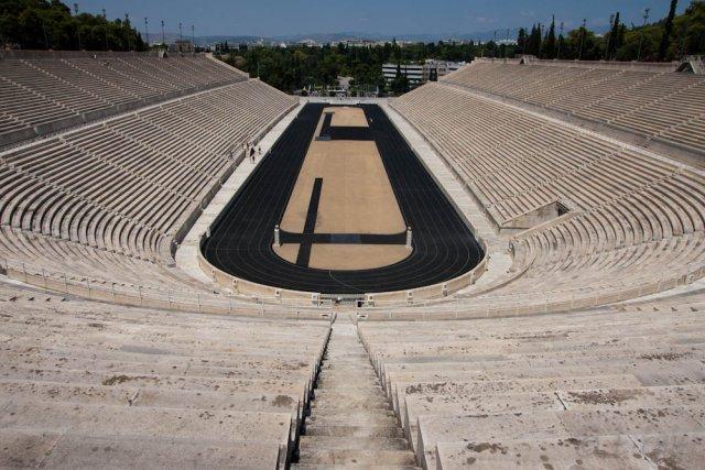 Панафинейский стадион, Афины