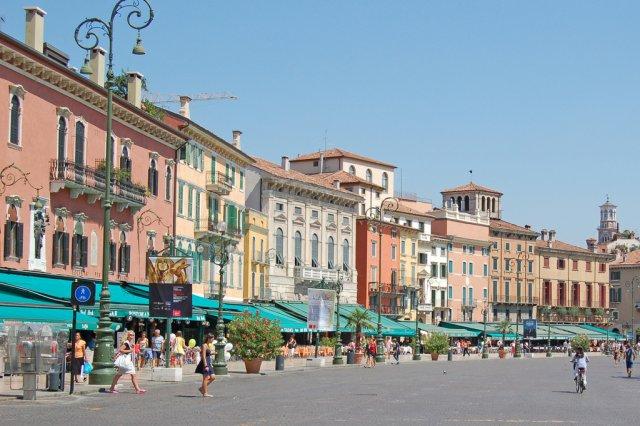 Площадь Бра, Верона