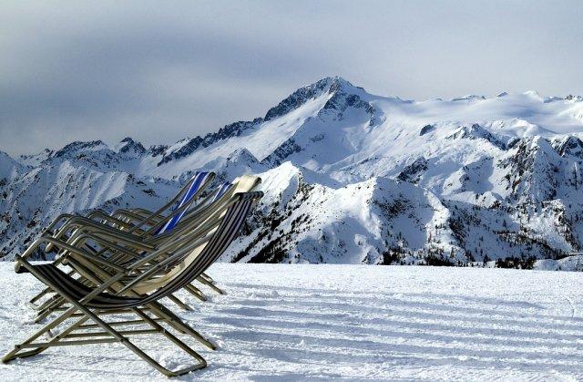 Уютный горнолыжный курорт в Италии !