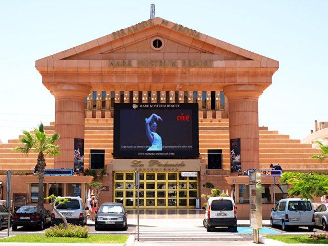 Концертный комплекс Пирамида Ароны, Тенерифе