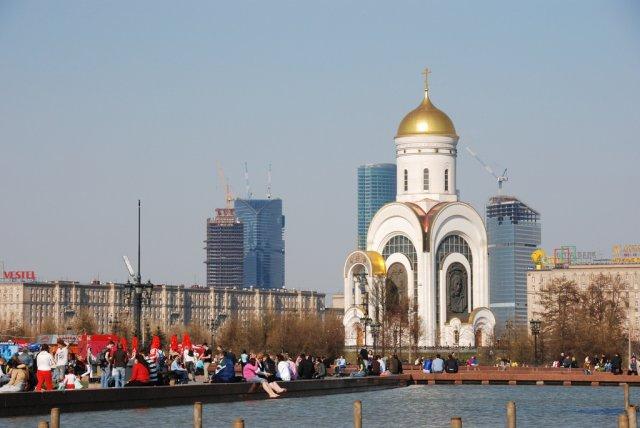 Поклонная гора, Москва