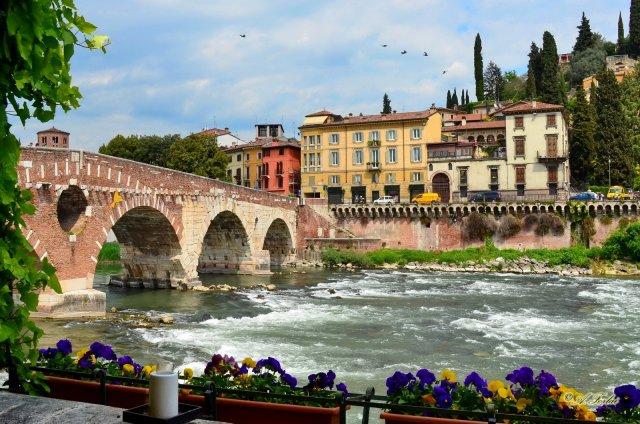 Мост Пьетра, Верона