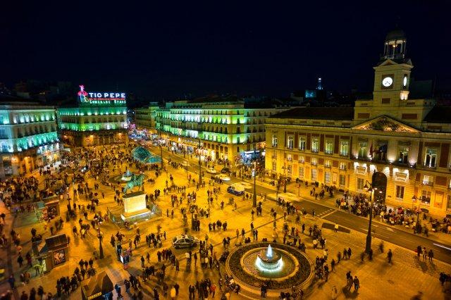 Площадь Пуэрта-дель-Соль, Мадрид