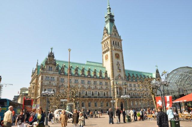 Городская Ратуша, Гамбург