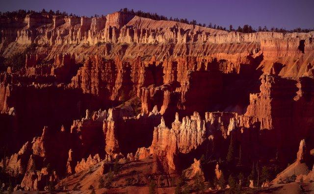 Красный каньон, США