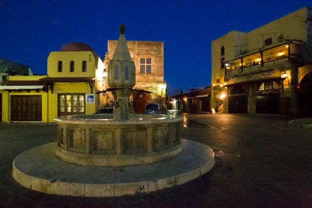 Старый город, Родос