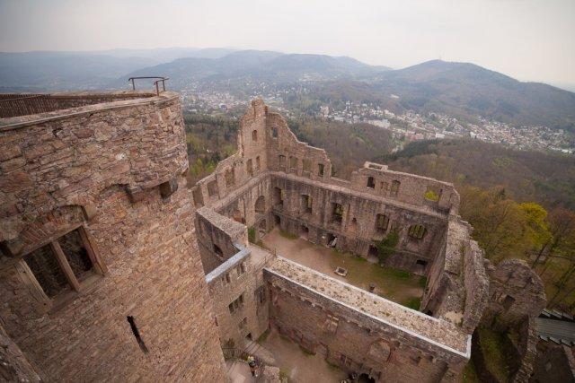 Замок Хоэнбаден, Баден-Баден
