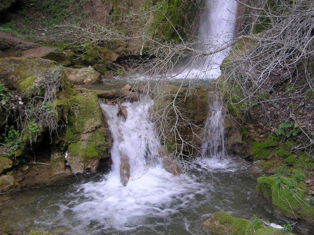 Водопад близ курорта Соко-Баня, Сербия