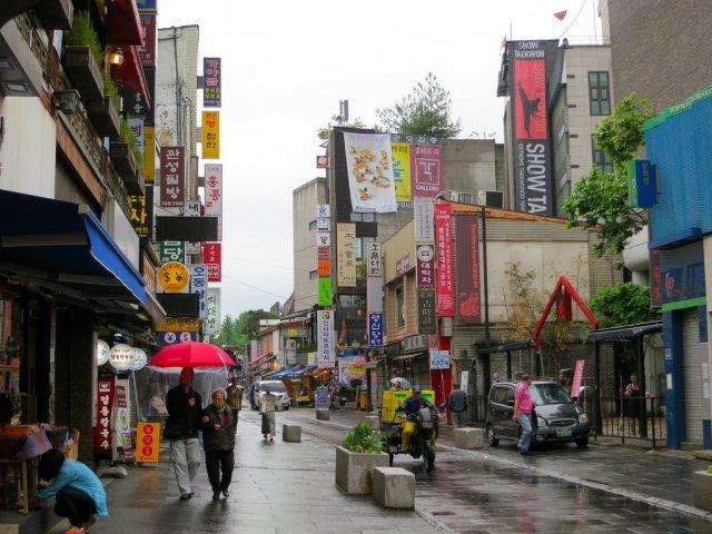 Торговая улица Инсадонг, Сеул
