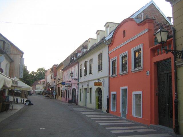 Улица Ткалчичева, Загреб