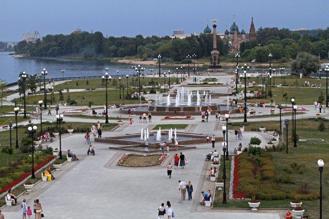 Парк на Стрелке, Ярославль